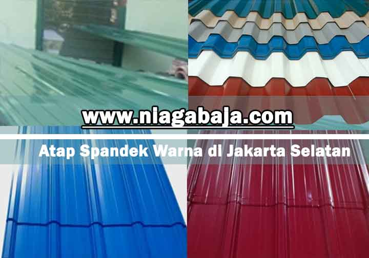 harga atap spandek warna Jakarta Selatan