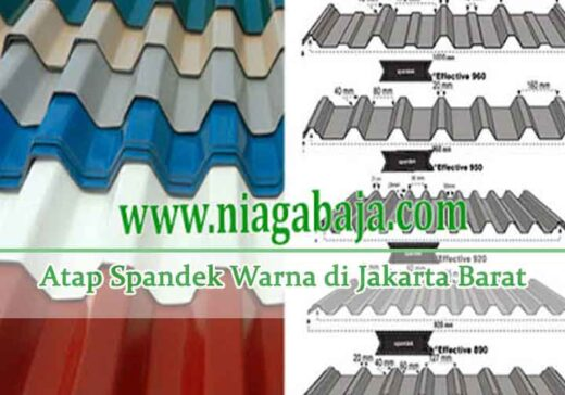 harga spandek warna Jakarta Barat