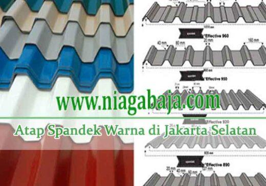 harga spandek warna Jakarta Selatan
