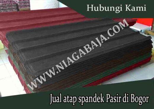 harga spandek pasir Bogor