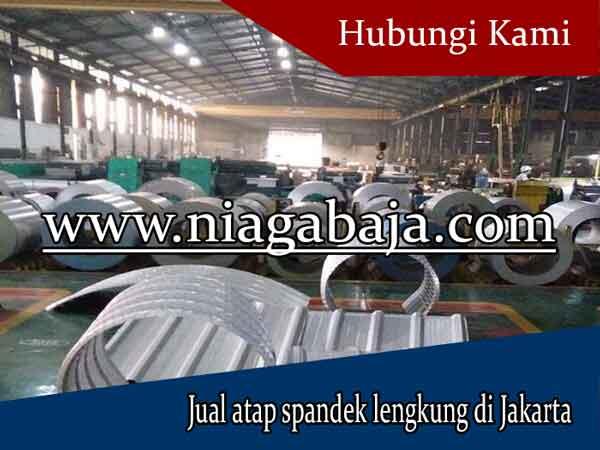 harga atap spandek lengkung Jakarta