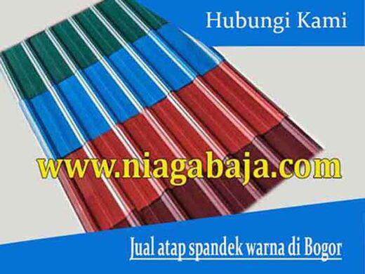 harga atap spandek warna Bogor
