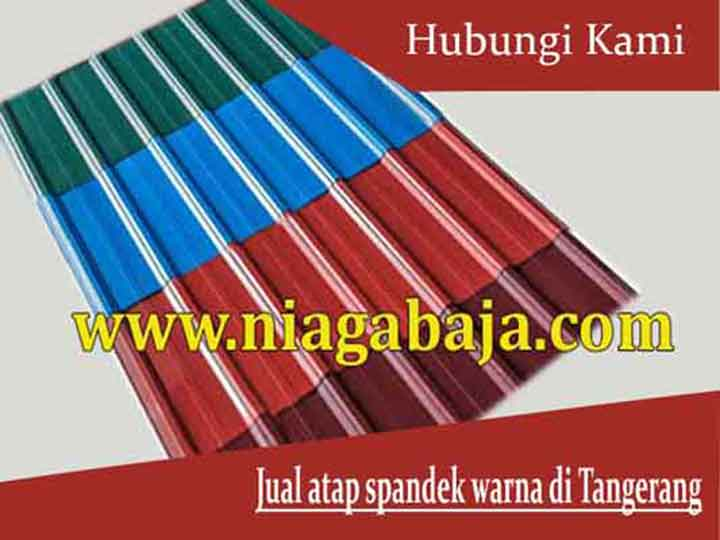 harga atap spandek warna Tangerang