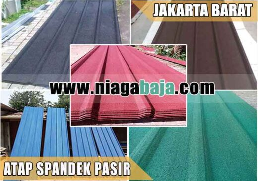 harga atap spandek pasir Jakarta Barat