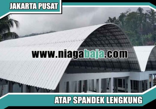 harga spandek lengkung Jakarta Pusat