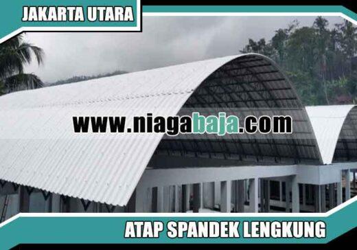 harga spandek lengkung Jakarta Utara