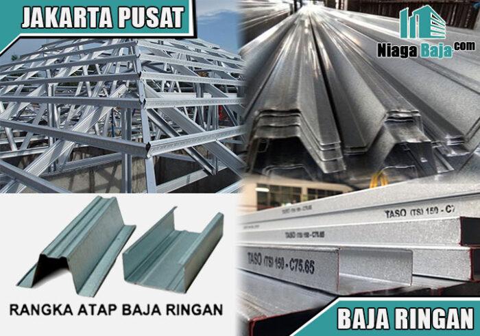 harga baja ringan Jakarta Pusat