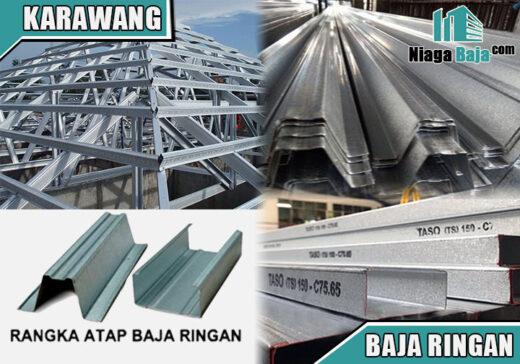 harga baja ringan Karawang