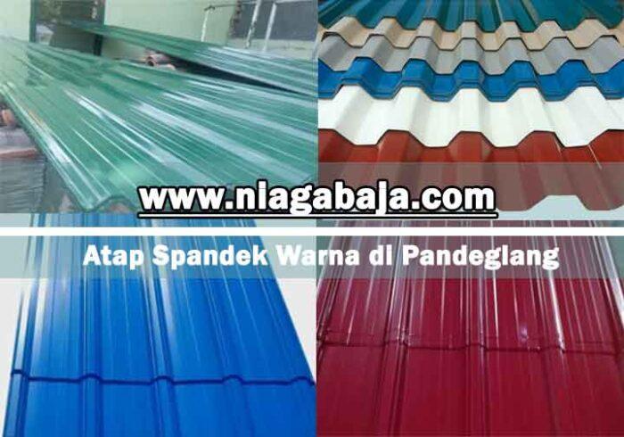 harga atap spandek warna Pandeglang